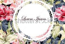 flower pattern type 1 / classic style
