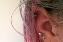 piercings and stuff
