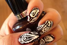 Nails by Ashley <3  / Unique Nail Art Designs. Bold Colours. Long Nails. Inspired.