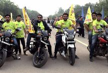 Tafribaaz Bikers / Tafribaaz Bikers known to cover long distances on their motorbikes came forward in support of 14th Run against drug abuse on the occasion of International day against drug Abuse at India gate on June 26, 2016.