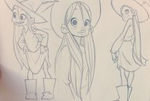 Character Design Sorcières