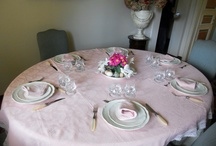 Pretty table setting / Easter Table set up