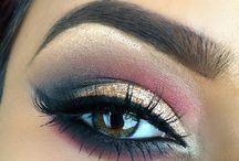 make up...eyes