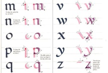 letter calligraphy