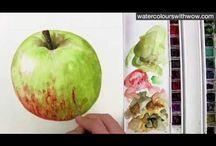 Рисуем яблоки