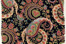 INSPO | Babushka Yai Ya / Russian inspired folkloric prints in a fun bright palette.