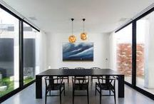 Modern Dining Rooms by Tom Dixon /  A selection of Tom Dixon's finest dining rooms