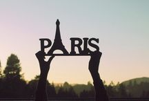 Paris / The city I love, yet have not been there.