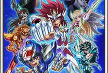 Saint Seiya Omega / Saint Seiya Omega (聖闘士星矢Ω(セイントセイヤオメガ) Seinto Seiya Omega, stylized as Saint Seiya Ω) is an anime series produced by Toei Animation. It is a spin-off based on the Saint Seiya manga series written and illustrated by Masami Kurumada, produced in commemoration of the 25th anniversary of the franchise.The series began broadcasting in Japan on TV Asahi on April 1, 2012. It is being directed by Morio Hatano, with animation character designs by illustrator and animator Yoshihiko Umakoshi.
