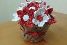 bunga kain perca