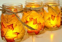 Fall leaf crafts, leaf decor and more