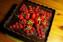 My chocolate cakes