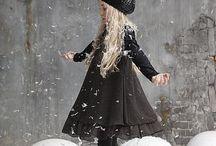 Tyttären talvityyli / Talvivaatteita pikkutytölle