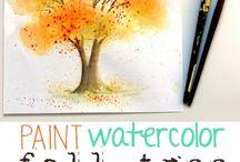 Watercolor Paintingo