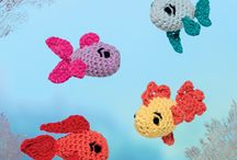 crochet fishes