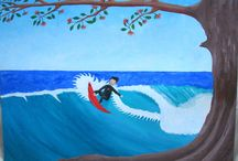 Surf art / Surf art that I have painted