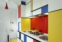 Mondrian home inspo for the modern look