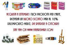 Promozioni e Iniziative FineArtsMart / Promo e Sconti Online - Iniziative d'Arte su www.fineartsmart.com