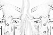 Bocetos de Styxx / by Fans Sherrilyn Kenyon Spain (Spanish Menyons)