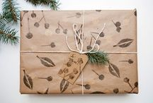 wrapped / cool ways to enclose packages ... why should it be boring?