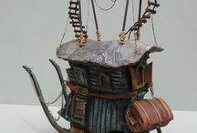 Whimsical Miniature Homes