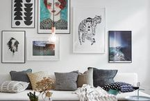 Gallery walls / the art of display at home