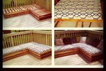 DIY porch furniture
