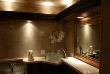 Bathroom Lighting / Bathroom Lighting, There is no doubt that the bathroom as important as the other house rooms. Certainly any house room should have proper lighting. The proper bathroom designs enhance your home values and elegance. If you want to redecorate your bathroom and enhance your bathroom in the most inexpensive and effective way, so you have to use proper lighting fixtures to create different look and mood. The bathroom nowadays has many purposes, it not used only for sanitary and bathing,