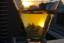 Sunset ,  Twilight / Twilight in a glass