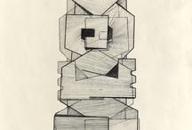 Y09 Public Sculpture - Sculptural drawings