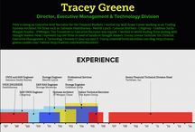 Resumes on Infographics / Here are examples of Infographic Resumes -- #GetInspired