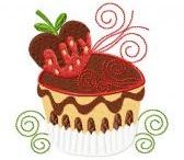 Love Cake Embroidery designs