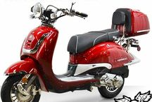 BMS Heritage 150 Moped Scooter / Heritage 150cc Scooter has the popular Vespa body design and beautiful chrome details. This scooter that classic Italian look, but with contemporary technology. Arrives fully assembled, just install mirrors, and charge battery. CARB certified