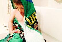 Donatello Hooded Towel