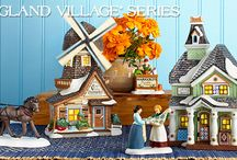 Department 56 - New England Village / Open the door to the delicately hand-painted buildings and accessories of our New England Village Series which portrays a simpler time when America was beginning its great traditions.