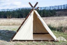 Medieval camping / medieval tents, vikings tents, medieval camp
