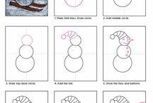 Art For Kids Winter