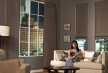 Roman Shades / Roman Shades have soft folds or flat fabrics with decorative patterns and colors.