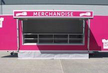 Merchandising Trailers / Showcasing a range of merchandising trailers built for customers across the UK.