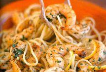Srimp spaghetti