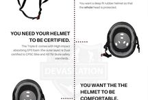 Safety Gear / Helmets, pads,  wrist guards, mouth guards