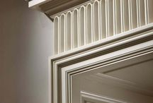 Cornice, skirting, archtrave