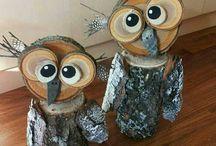 Zvířata ze dřeva