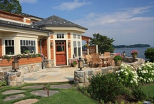 Patios / Samples of some Conte & Conte, LLC landscape design patios.