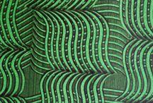 Book Design/Paste Paper Design