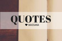 MASSANA Quotes