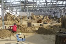 Kick Off the Summer May 23/24th 2015 / Sandsculpturing display and sandcastle competition on Redcar beach