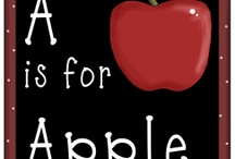 Letter A (Apples)