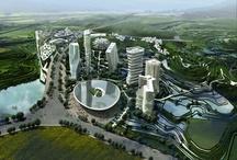 FUTURE CITY UTOPIAN  / UTOPIAN CITIES  / by GRAY SCOTT