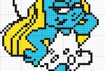 Smurf beads patterns